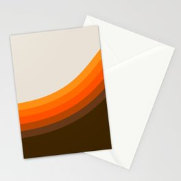 Golden Horizon Diptych - Right Side Stationery Cards