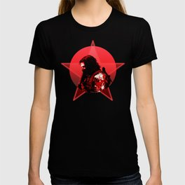 Winter Soldier 80's Alternative Character Poster T-shirt