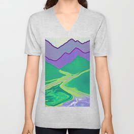 Mountain Murmurs Unisex V-Neck