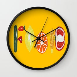 Good Food Wall Clock