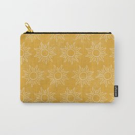 Sun pattern Carry-All Pouch
