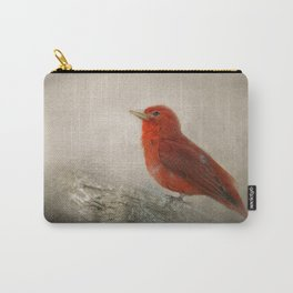 Song of the Summer Tanager 1 - Birds Carry-All Pouch