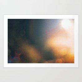 Abstract Light Art Print