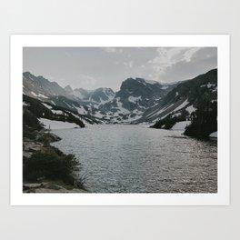 Lake Isabel Art Print