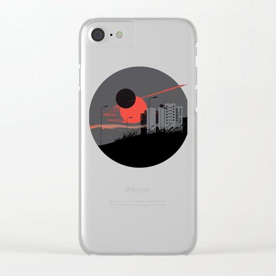 apocalypse city Clear iPhone Case