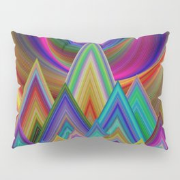 Summer Night at the Mountains Pillow Sham