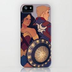 Diana & Steve iPhone SE Slim Case