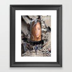 #ThisCouldBeUsButYouPlayin Framed Art Print