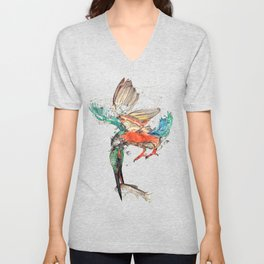 kingfisher Unisex V-Neck