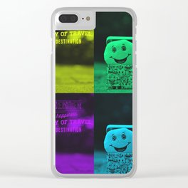 smile 4 ever Clear iPhone Case