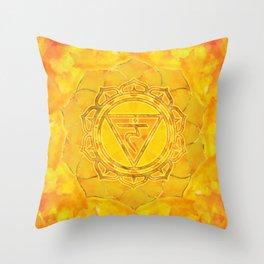 Solar plexus chakra - Manipura Throw Pillow