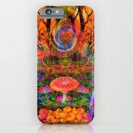 Hypnotic Autumn Magic iPhone Case