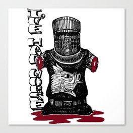 The Black Knight - Monty Python Canvas Print