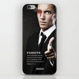 FORGIVE  iPhone Skin