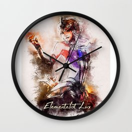 A Tribute to Elementalist LUX Wall Clock