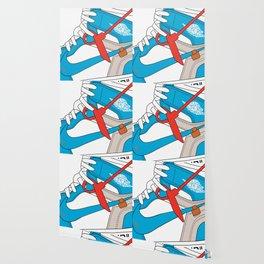 Jordan 1  Of White Poster Wallpaper