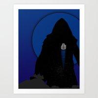 Escape From Jakku Art Print