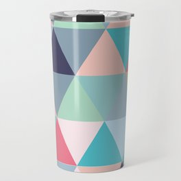Geo Pastels Travel Mug