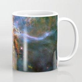 Mystic Mountain (a region in the Carina Nebula)(NASA/ESA Hubble Space Telescope) Coffee Mug