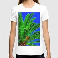 palm tree T-shirts featuring Palm Tree by Phil Smyth
