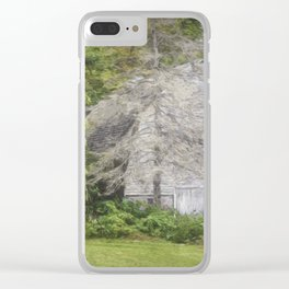 Peaked Barn Clear iPhone Case