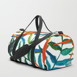 Exotic nature and flowers Duffle Bag