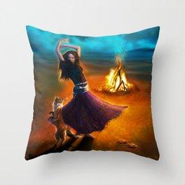 Dance Like A Dervish Throw Pillow