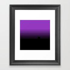 Retro Franco Framed Art Print