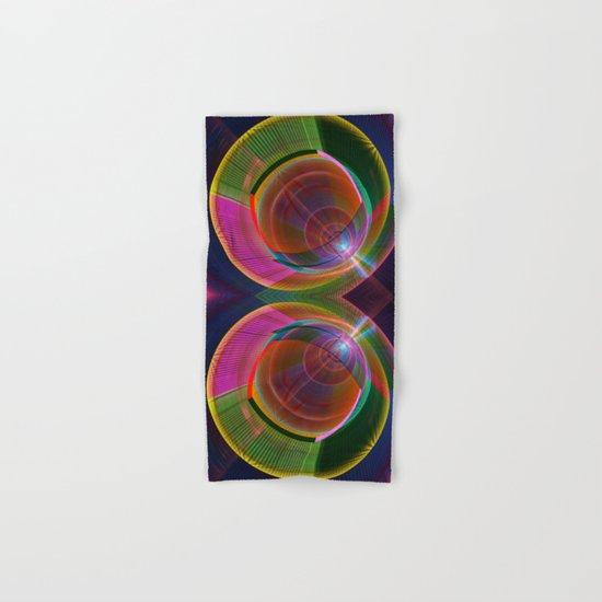 Colourful geometric abstract Hand & Bath Towel