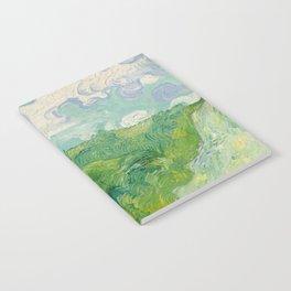 Green Wheat Fields, Auvers, 1890, Vincent van Gogh Notebook