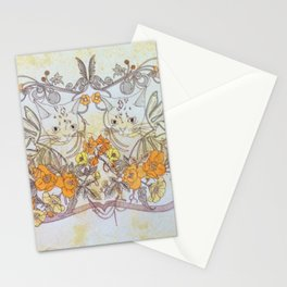 Twisted Twin Sisters Stationery Cards