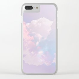 Whimsical Pastel Candy Sky #surreal #society6 Clear iPhone Case