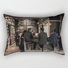 Market Cafe Rectangular Pillow