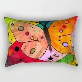 Sweet Butterfly by Nico Bielow Rectangular Pillow