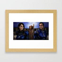Ultimatum Framed Art Print