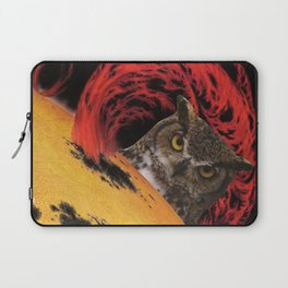 The Owls Are Not What They Seem Laptop Sleeve