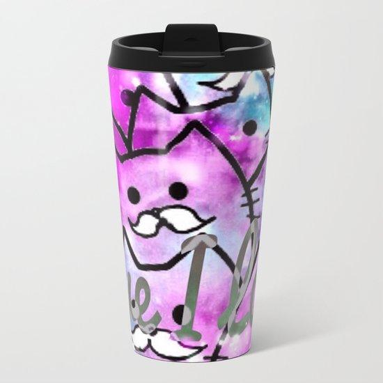 cats-13 Metal Travel Mug
