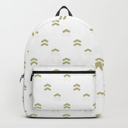 Arrows white Backpack