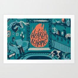 Graft - Hearth & Home Art Print