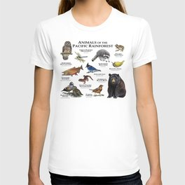 Animals of the Pacific Rainforest T-shirt