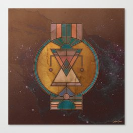 ∆ : The Guide Canvas Print