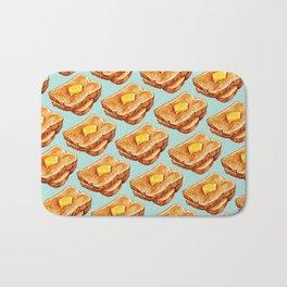 Toast Pattern Bath Mat