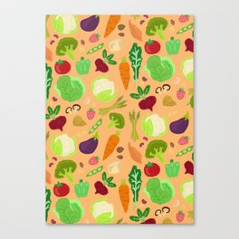 Vegan Easy Print Canvas Print
