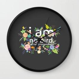 Jane Eyre - I Am No Bird Wall Clock