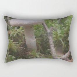 Fogged Cortinarius Rectangular Pillow