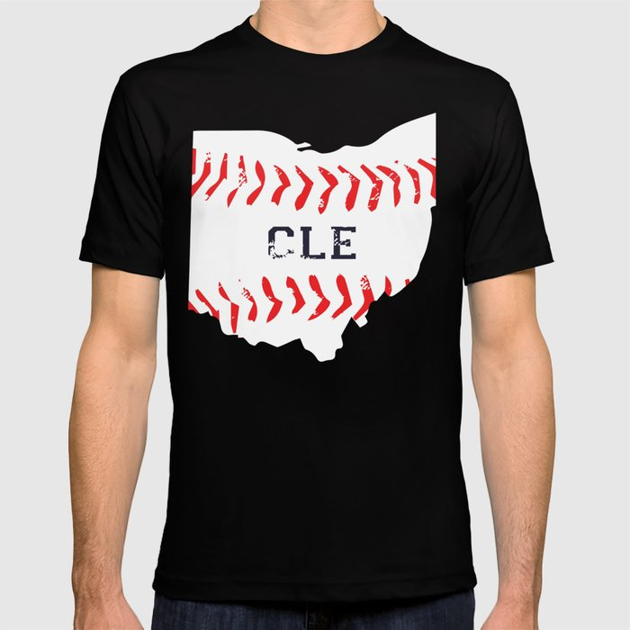 8c7a392a Distressed Cleveland Baseball Shirt Cleveland Ohio T-shirt