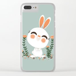"""The """"Animignons"""" - the Rabbit Clear iPhone Case"""