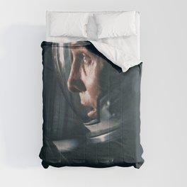 "Interstellar "" do not go gentle into that good night "" sci-fi movie poster Comforters"