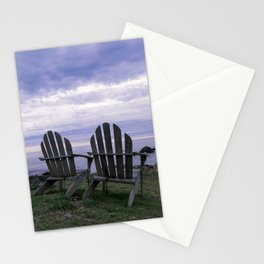 Sunset for Two, Mendocino Stationery Cards