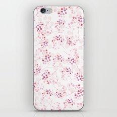 Pink pattern iPhone & iPod Skin